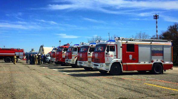 Аэропорт Симферополя завершил программу перевооружения аварийно-спасательных служб