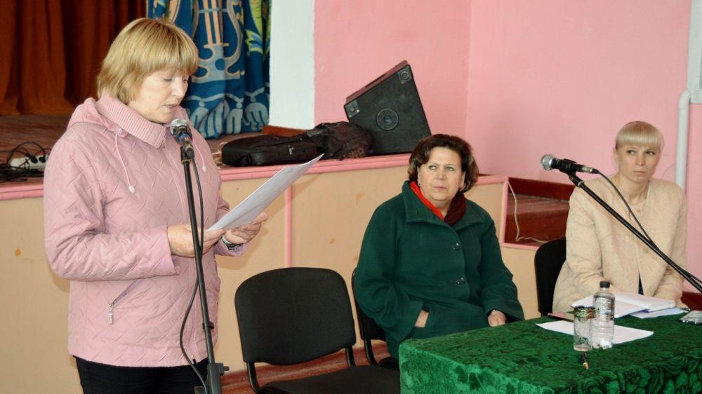 Глава Черновского сельского поселения отчиталась о проделанной за 5 лет работе