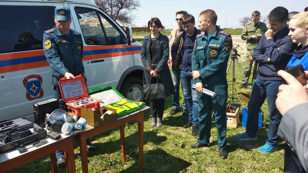 Специалисты МЧС РК приняли участие в учебно-методическом сборе по вопросам гражданской обороны