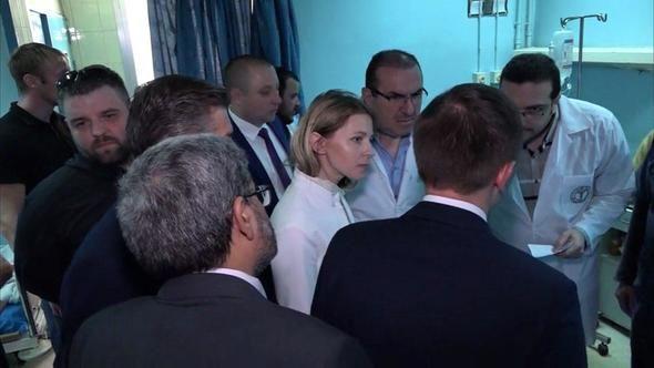 Тяжелобольные дети из Сирии отправятся на лечение в больницы Москвы и Петербурга - Поклонская