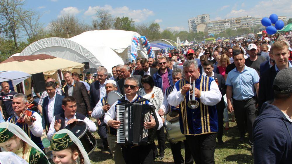 В Бахчисарайском районе состоялось празднование крымскотатарского народного праздника Хыдырлез