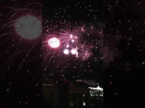 Празднование Дня Победы в Симферополе завершилось артиллерийским салютом