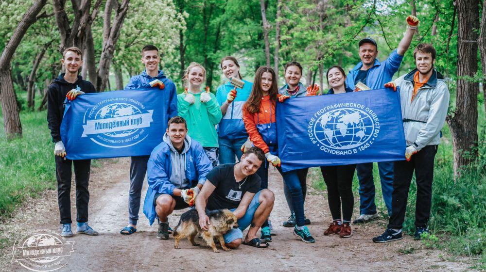 При поддержке Минприроды Крыма на территории Бахчисарайского лесхоза организован Волонтерский экологический лагерь