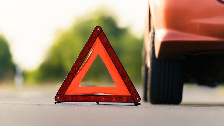 На трассе Симферополь-Бахчисарай столкнулись четыре машины