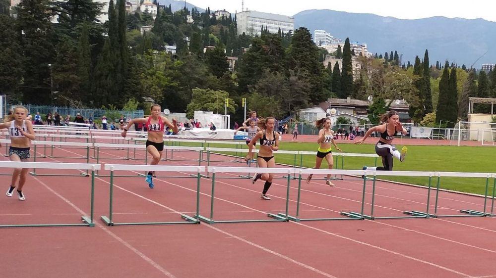 В Ялте прошли чемпионат и Первенство Республики Крым по легкой атлетике