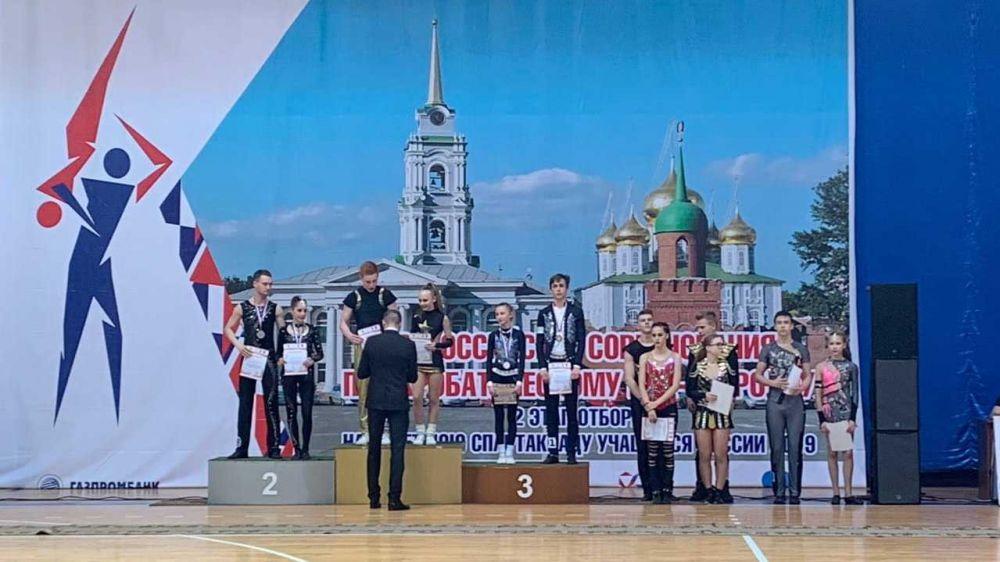 Крымские спортсмены пробились в финал всероссийской Спартакиады по акробатическому рок-н-роллу