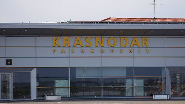 """Аэропорт в Краснодаре эвакуировали после звонка о """"минировании"""""""