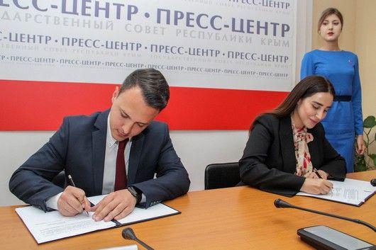 Молодежные парламенты Республики Крым и Ленинградской области подписали Соглашение о сотрудничестве