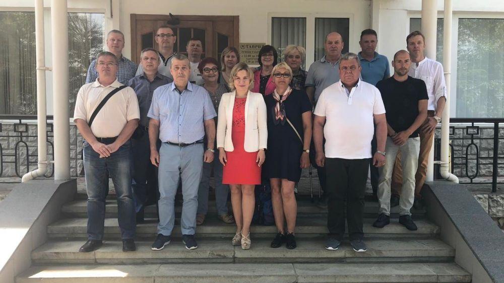 Ольга Торубарова встретилась с представителями регионального отделения паралимпийского комитета
