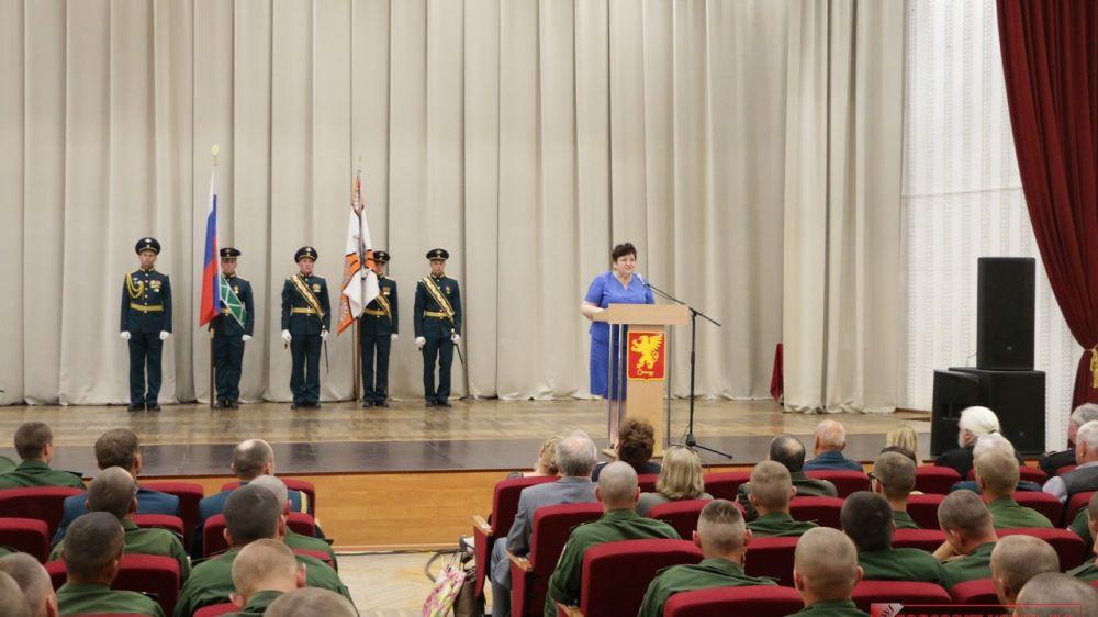 В Керчи отметили 5-летие создания 630-го отдельного путевого железнодорожного батальона