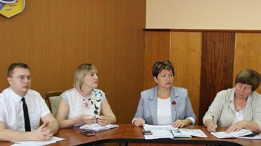 Инна Федоренко провела аппаратное совещание с руководителями структурных подразделений администрации района