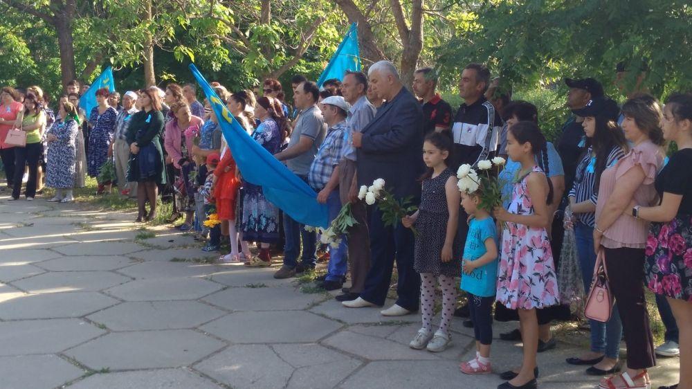Армянск помнит 18 мая жители Армянска почтили память депортированных народов