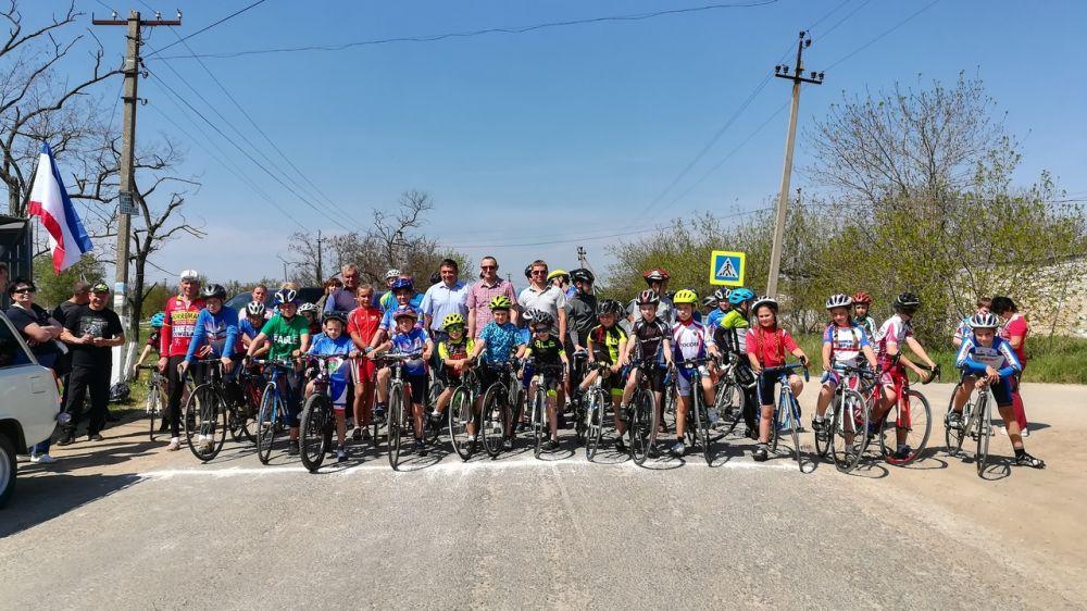 В Новоандреевке состоялись соревнования по велокроссу на Кубок главы администрации Симферопольского района