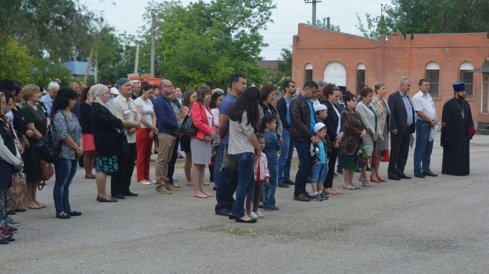 В Кировском районе почтили память жертв депортации из Крыма