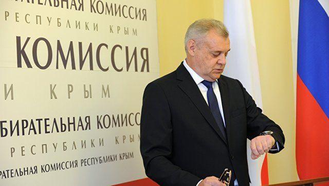 Малышев переизбран на пост главы Избиркома Крыма