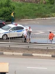 В Симферополе пьяный пешеход упал на дорогу
