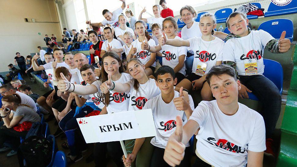 Крымчане выиграли 6 золотых медалей Первенства России по сумо