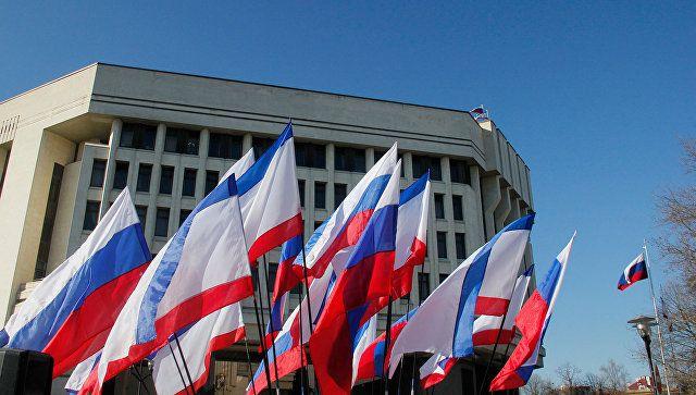 Матвиенко поздравила Госсовет Крыма с пятилетием