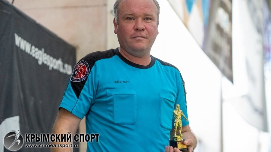 Андрей Шалавин – лучший футзальный арбитр Крыма сезона-2018/19
