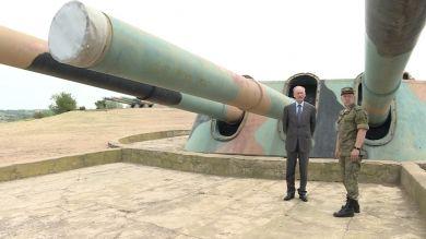 Секретарь Совбеза РФ Николай Патрушев посетил в Севастополе легендарную 30-ю бронебашенную батарею