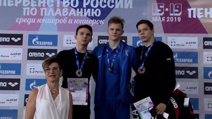 Симферопольский спортсмен выиграл бронзовую медаль Первенства России по плаванию