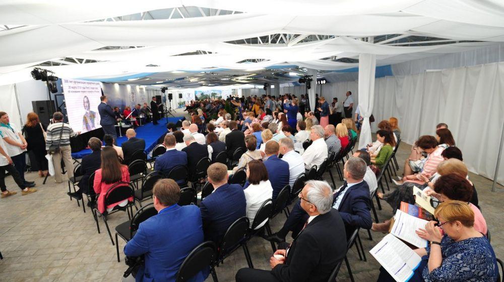 В Алуште состоялось открытие XIX Всероссийского Форума «Здравница-2019»