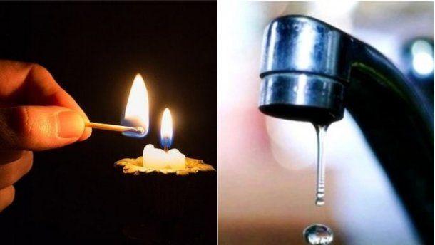 Где в Симферополе сегодня отключат свет и воду