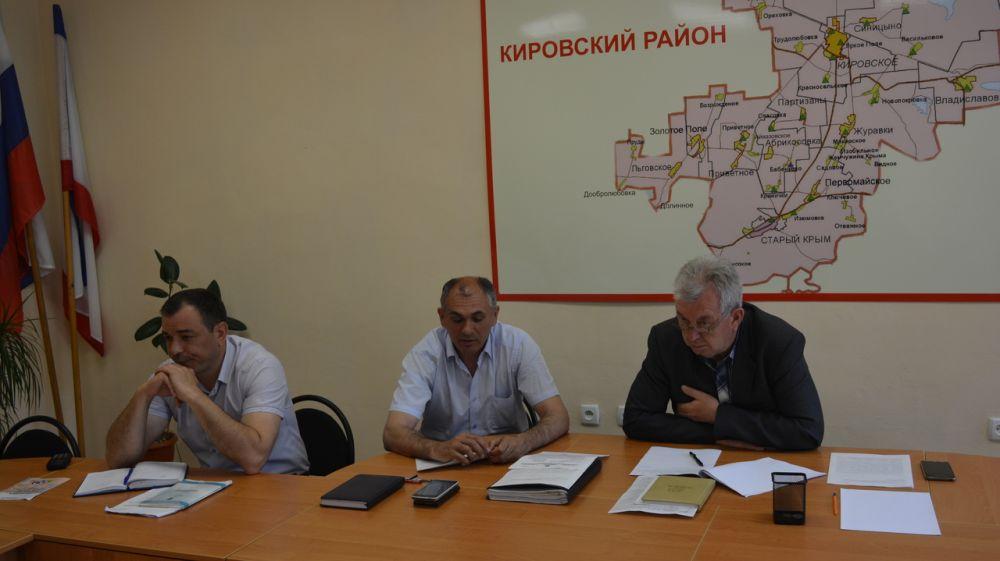 Анатолий Сычёв провел рабочее совещание