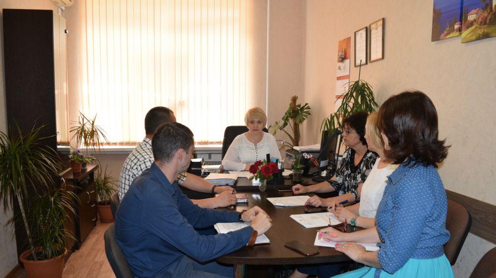 В администрации города Джанкоя прошло очередное заседание комиссии по делам несовершеннолетних и защите их прав