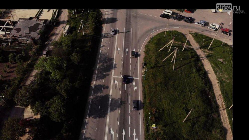 На Ялтинской объездной возле Строгоновки решили проблему с заторами