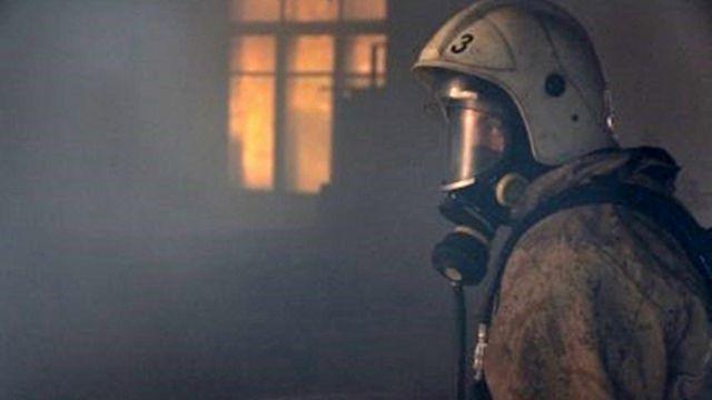 На пожаре в г. Красноперекопск эвакуировано 16 человек