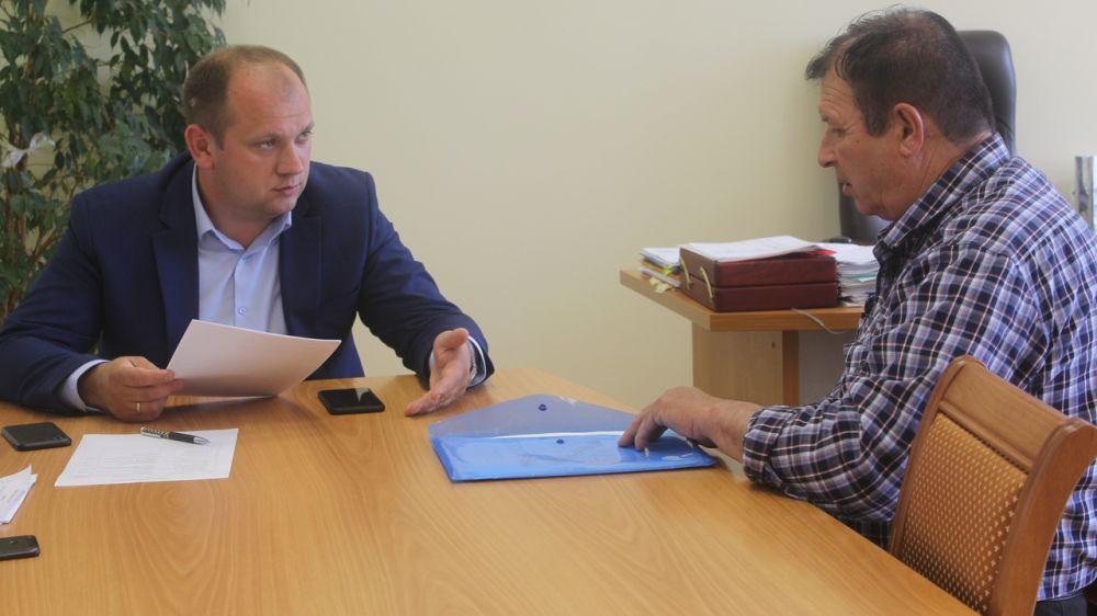 Сергей Донец провел очередной прием граждан
