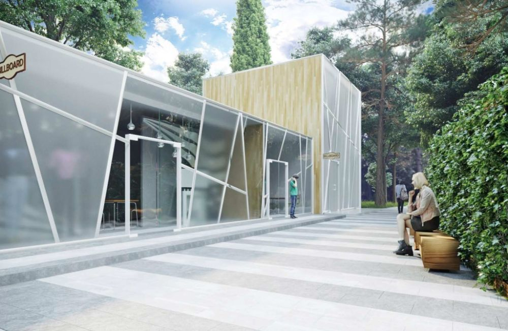 Проект Пионерского парка представили в Ялте