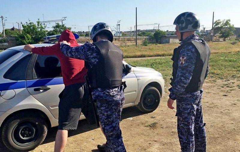 В Евпатории задержали мужчину, выстрелившего в своего знакомого