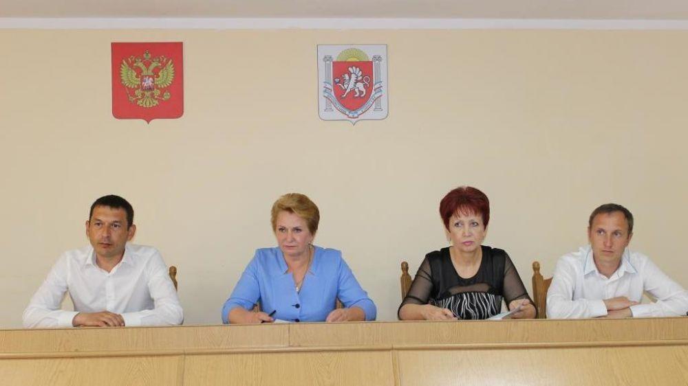 Галина Мирошниченко провела совещание с главными распорядителями бюджетных средств Сакского района