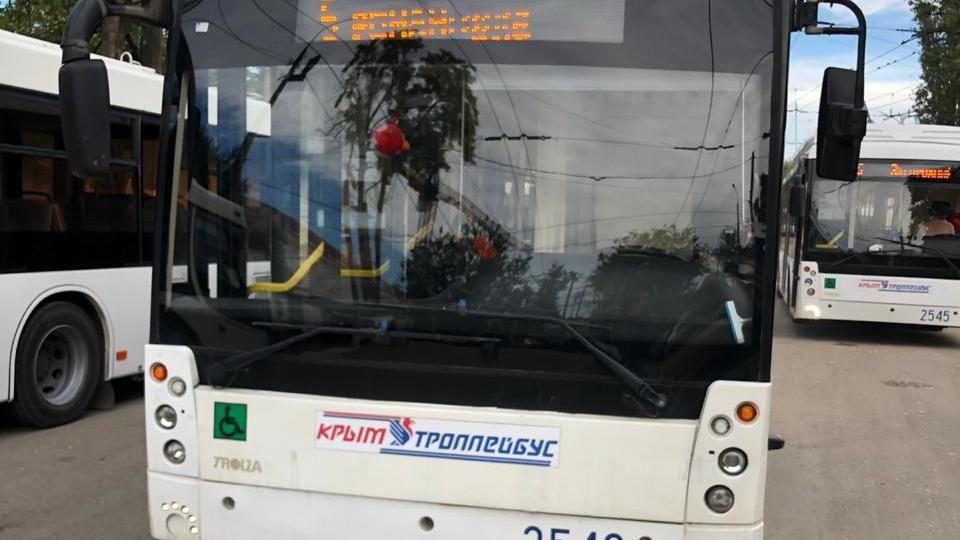Минтранс проверил пассажиропоток на троллейбусном маршруте №5
