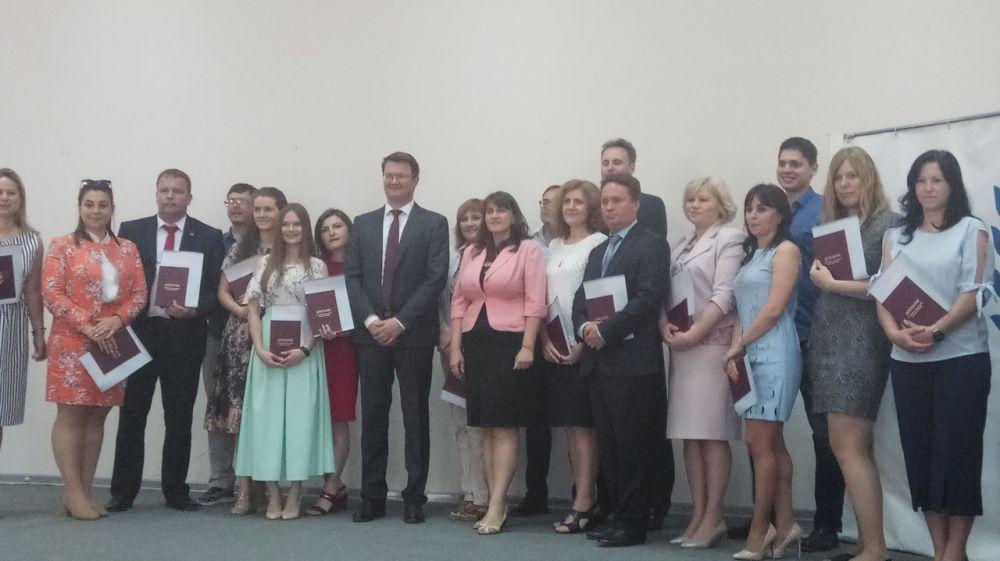 Слушатели первого потока по программе дополнительного профессионального образования получили дипломы