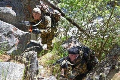 В Крыму появились горные войска