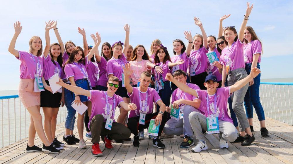 Крымчане приняли участие в форуме «Молодая волна. Поколение добровольцев»