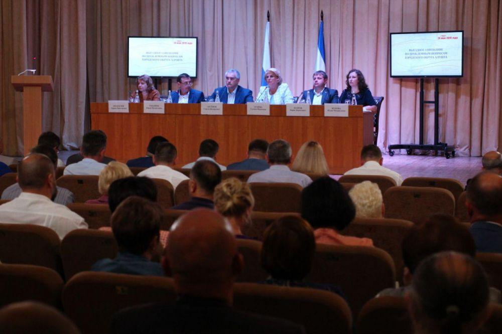Проект противооползневых работ по улице Туристов в Алуште составляет 7,5 миллионов рублей