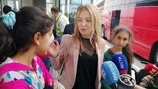 В Крым на оздоровление приедут еще 38 детей из Сирии - Поклонская