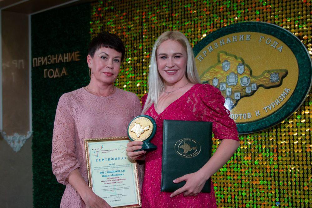 Отель «Botanic» города Саки признан лучшим двухзвёздочным гостиничным комплексом Крыма