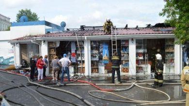 В Севастополе горел дельфинарий, животных спасли