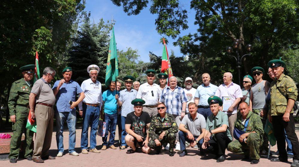 В Феодосии отметили День пограничника