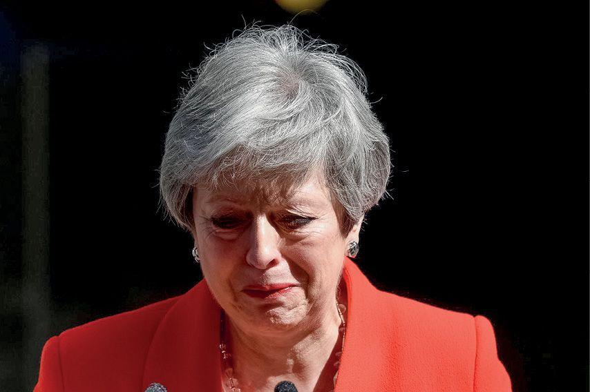 Brexit довёл Мэй до слёз