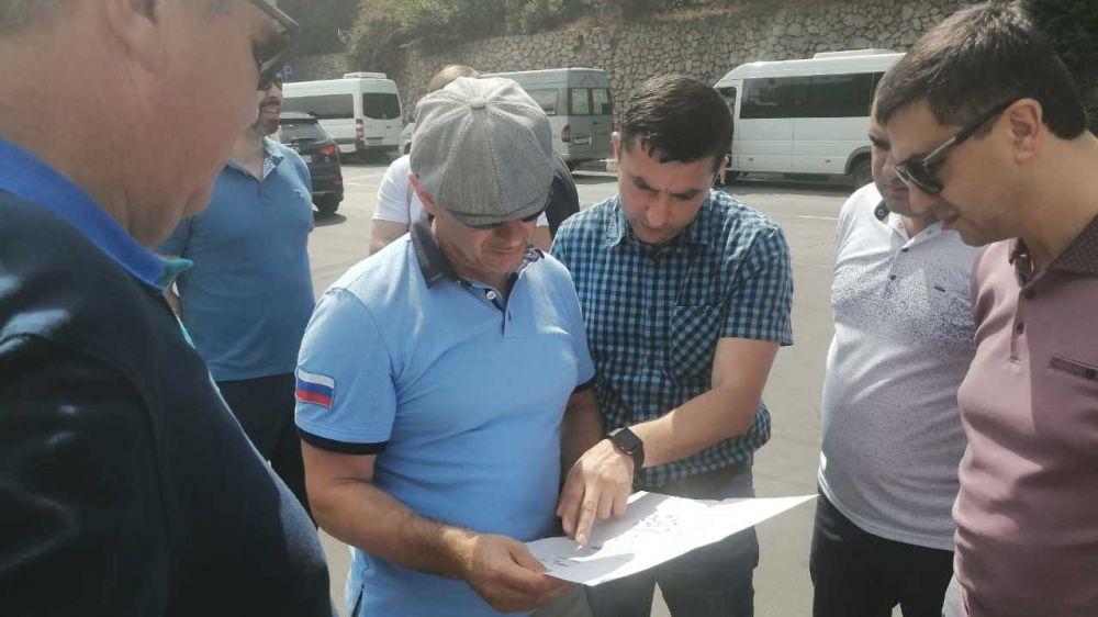 Министр транспорта Республики Крым Сергей Карпов проверил работу автостанций в Алуште и Ялте