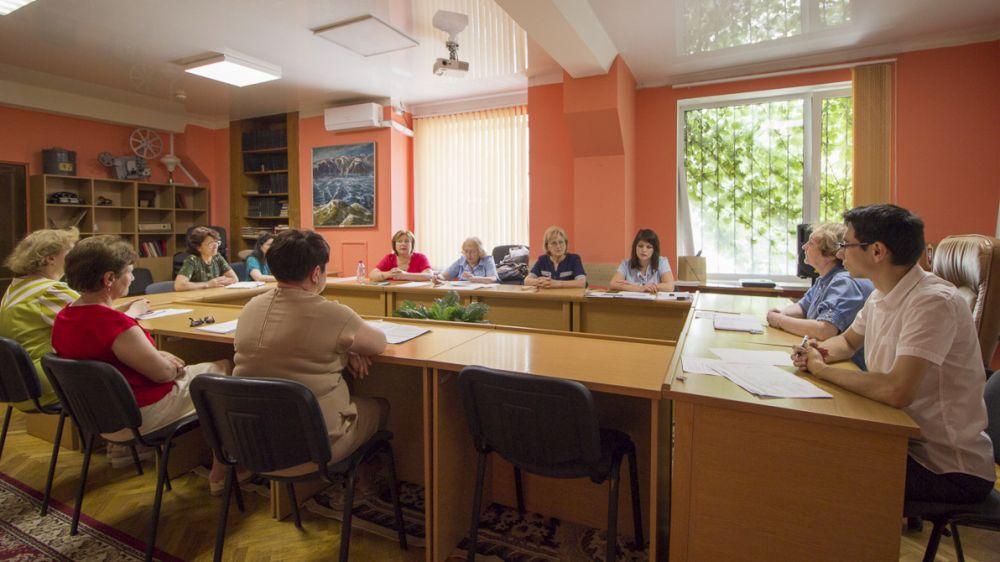 Под председательством Татьяны Шаровой состоялось заседание Экспертно-проверочной комиссии Госкомархива Республики Крым