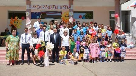 Сергей Компанейцев поздравил детей Центра социальной поддержки семей, детей и молодёжи с Днем защиты детей
