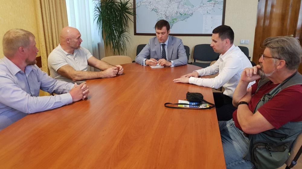 В Минприроды Крыма состоялось совещание по вопросу акклиматизации серны кавказкой в природной среде Крыма