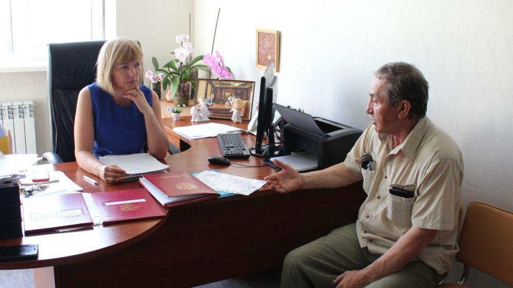 Наталия Сологуб провела личный прием граждан